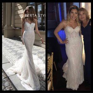 Berta Wedding Dress- Champagne/Ivory